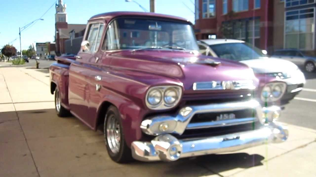 Awesome Video Check Out The 1959 Studebaker Napco Demonstrator Truck Huge 4x4 Perfection furthermore The Professors 1959 Chevrolet Apache Experiment in addition Duo Chevrolet Napco 4x4 Trucks Cross Block in addition 1976 El Camino Review likewise 210191507579447491. on 1959 gmc truck