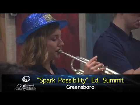 """Spark Possibility"" Guilford Education Alliance Annual Ed. Summit"