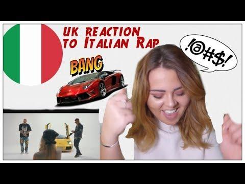 Guè Pequeno - Lamborghini (RMX) ft. Sfera Ebbasta Reaction|