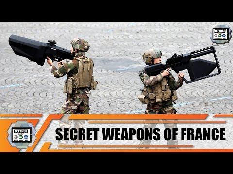 Secret weapons and new military equipment unveiled by French Army during Bastille Day parade 2019 Fr