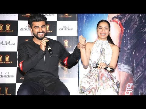 Half Girlfriend Full Movie - Arjun Kapoor, Shraddha Kapoor & Mohit Suri - Trailer Launch Event