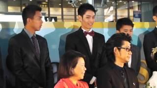 大阪駅(時空の広場)で開催されたレッドカーペットイベント「アジアン...