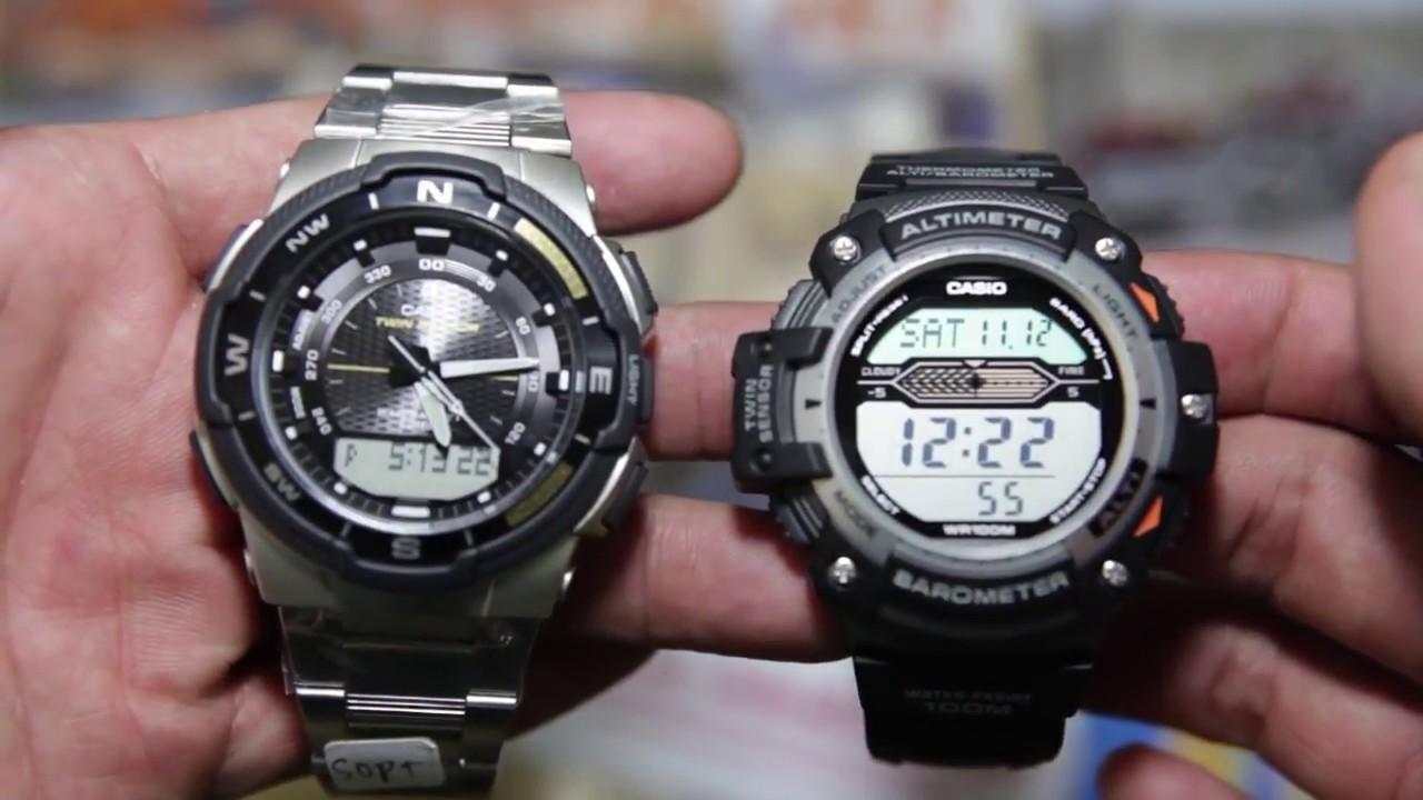 ce7b88e1fa3 Casio Outgear SGW-500HD-1BV VS Casio SGW-300H-1AV - YouTube