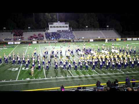 "Jackson High School ""Purple Army"" Band, Massillon, OH  - Part 1"