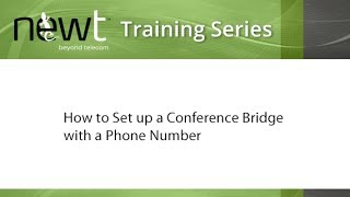 How To Set Up A Conference Bridge With A Phone Number