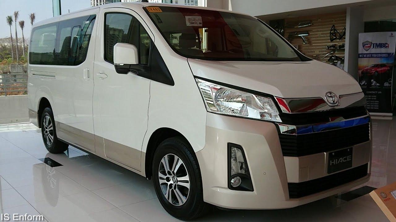 Toyota Hiace phiên bản số sàn 2.8 Diesel Turbo
