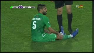 (الصمت في حرم الجمال جمال ) إنبهار معلق قناة أبوظبي الرياضية كلام يصيب بالقشعررة في حق جماهير الرجاء
