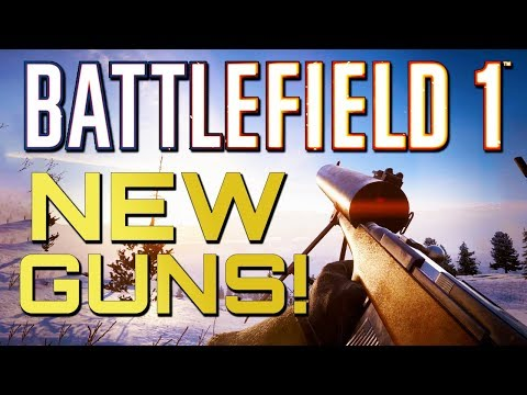 Battlefield 1: FIVE NEW Weapons! (Battlefield 5 Pre-Order Bonus)