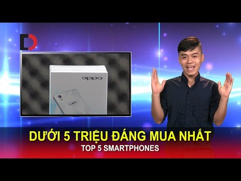 Di Động Việt - Top 5 Smartphones Dưới 5 triệu đáng mua nhất