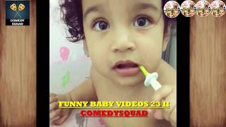 FUNNY Babies Kissing for The First Time