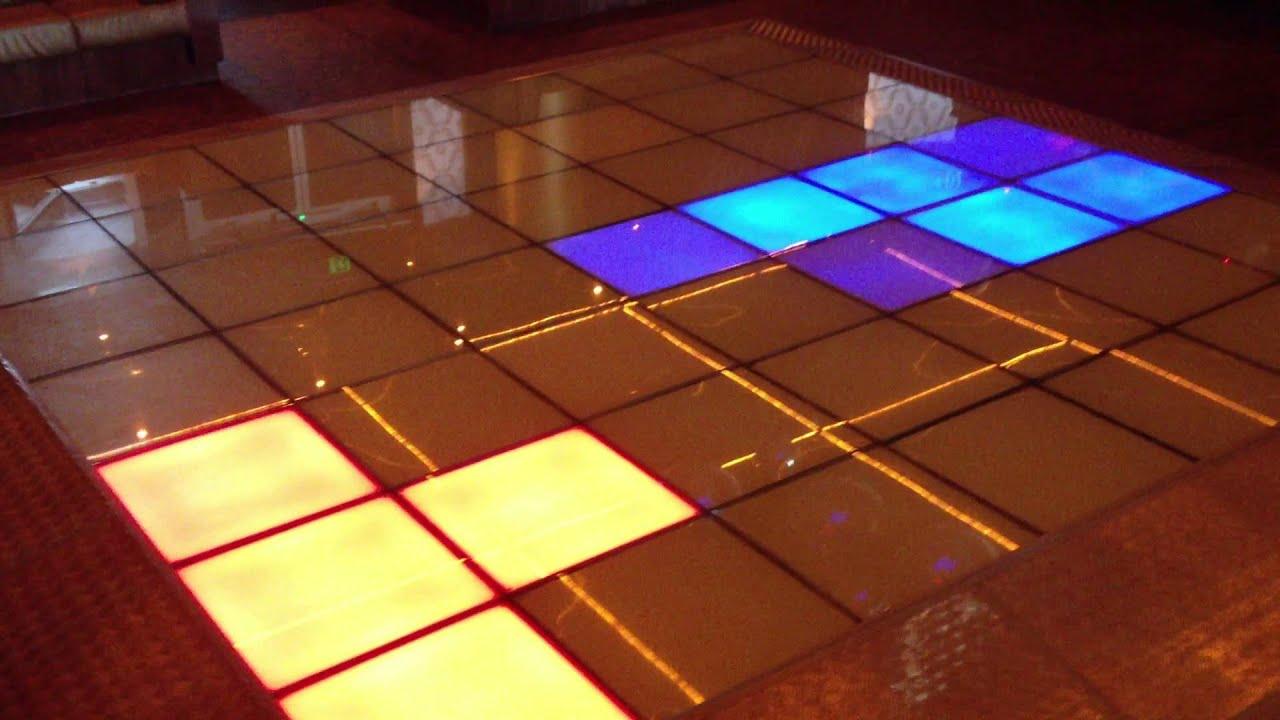 Lightup LED Dance Floor Hire Sydney - YouTube