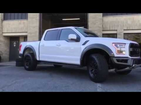 2018 Ford Raptor Wheels Satin Black