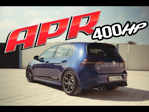 400HP **APR** Stage 2 - GOLF R **EURO REVS**