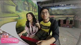 Weekend List - Marsya dan Shinta seru-seruan di Kampung Gajah, Bandung