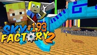 Der Drachensprung! - Minecraft Sky Factory 2 Folge #193