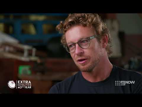 Simon Baker shares his parenting tips