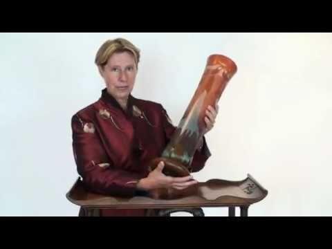 Art Nouveau Cameo Vase Made By Daum Nancy