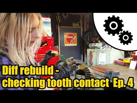 Diff Rebuild - How To Check Tooth Contact Ep.4 #1026