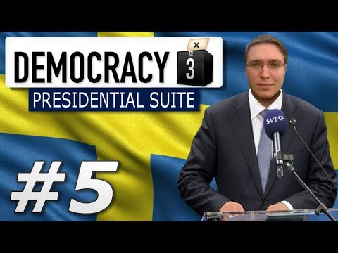 Democracy 3: Presidential Suite | Sweden  - Year 5