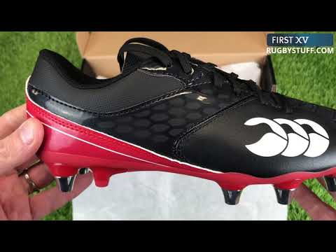 Unboxing Canterbury Phoenix Raze Rugby Boots Black/Red