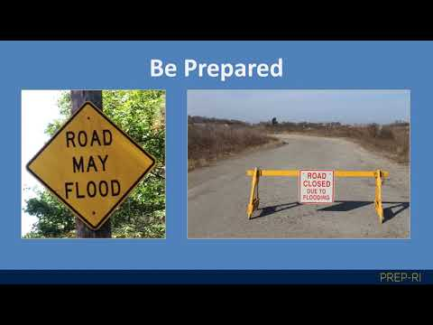 Rising Waters  Planning for Flooding in the Ocean State