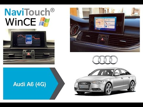 navitouch wince gps navigation switching modes demo. Black Bedroom Furniture Sets. Home Design Ideas