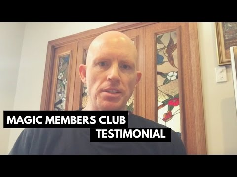 Free Magic Live Members Club | Testimonial | Chris Heath