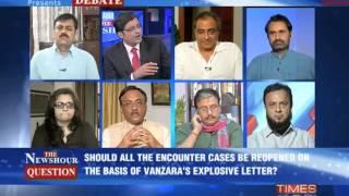 The Newshour Debate: Vanzara's letter, political fodder - Part 2