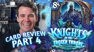 (Hearthstone) Knights of the Frozen Throne: Card Review Part 4 - Neutrals