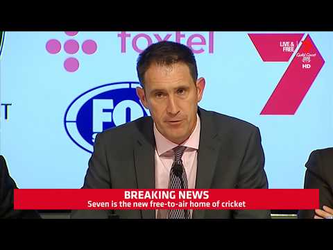 20180413   Cricket Australia Announce New Television Broadca