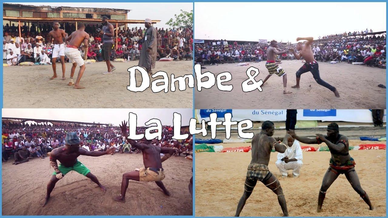 La lutte Senegalaise - YouTube