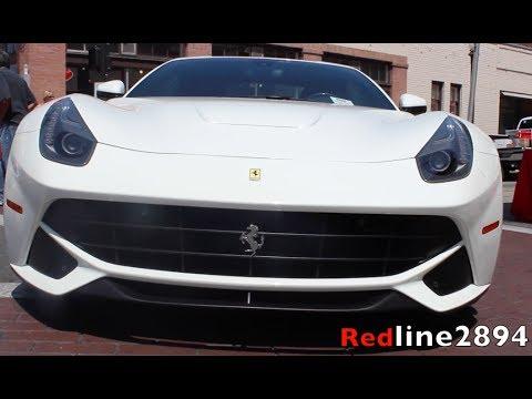 F12berlinetta at Concorso Ferrari 2014. Look Around, Start-up, Small Revs