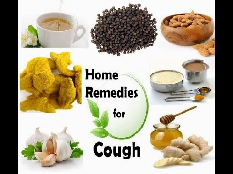 cough treatment at home.