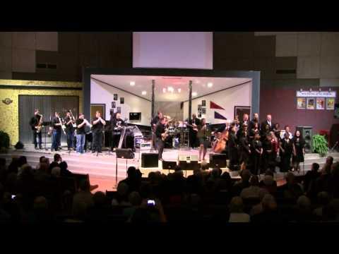 Amazing Grace - Grady Nichols, Rose Sparrow, and the St. James Gospel Choir