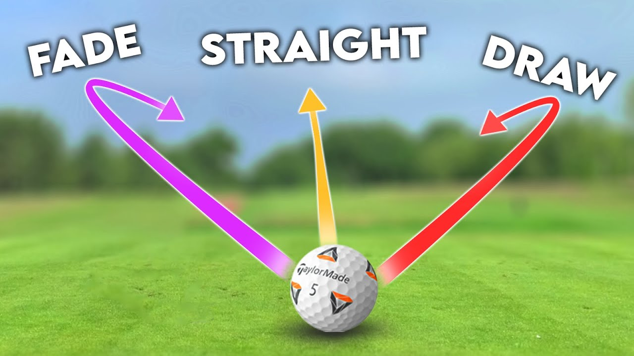 How to shape ANY golf shot! | Draw + Fade + Stinger + Straight