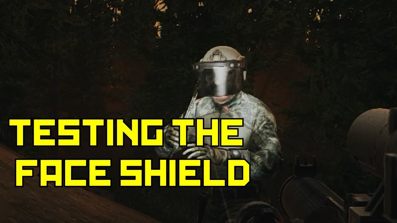 <b>Testing</b> The Fast MT Face Shield VS. The Mandible : Escape From ...