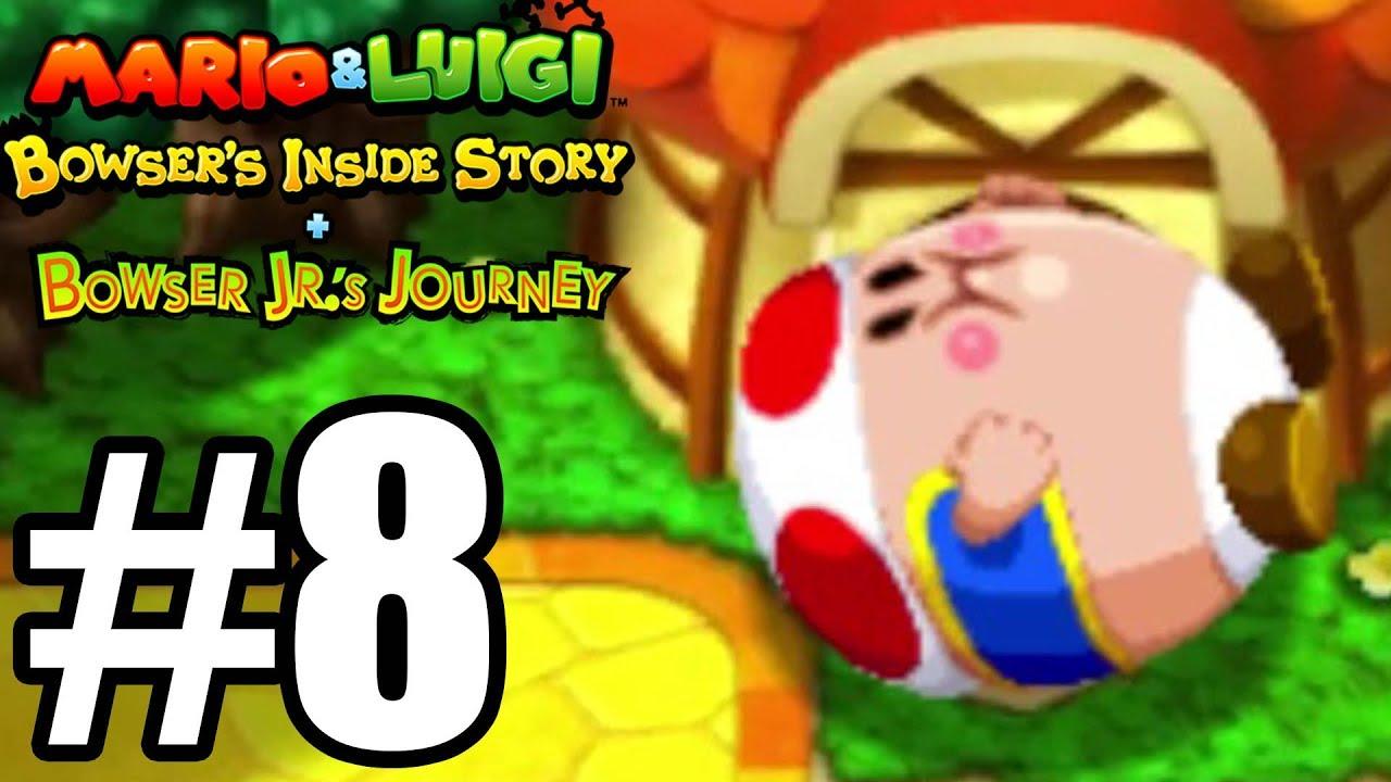 Mario & Luigi Bowser's Inside Story 3DS Gameplay Walkthrough Part 8