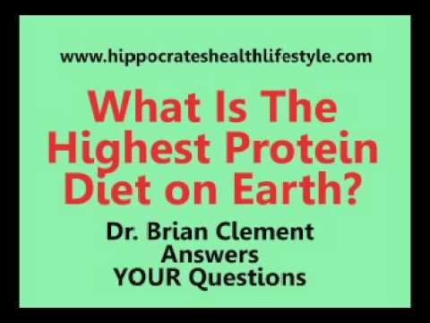 Brian Clement Calls Hippocrates Diet The Best Protein Diet On Earth