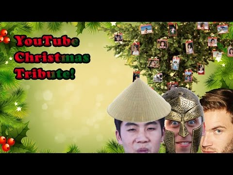 YOUTUBE CHRISTMAS TRIBUTE| feat. PewDiePie, Niga Higa, Roman Soldier (Atwood)