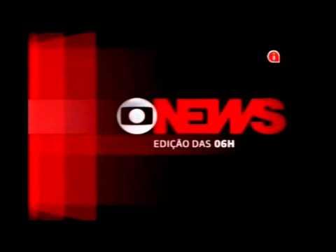 Abertura Jornal Globo News Edição Das 6h Youtube