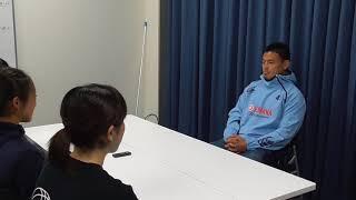 2017年度より日本復帰を果たした五郎丸歩選手のインタビュー映像です。 ...