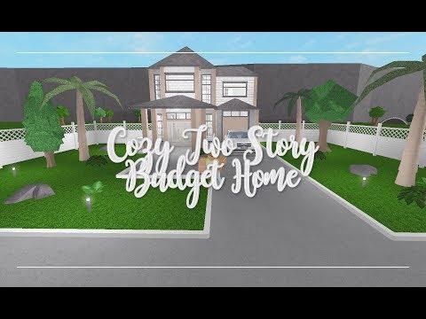 Bloxburg Tropical Villa House Speed Build Youtube