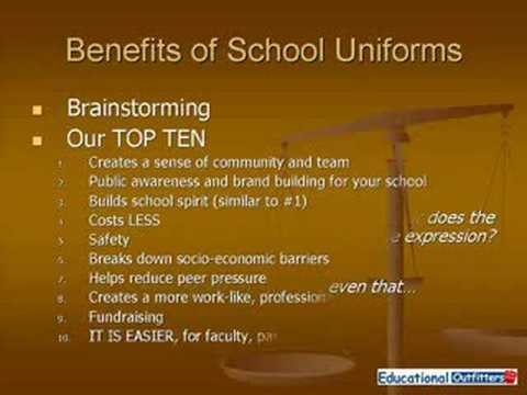 pro s and con s of school uniforms by educational outfitters  pro s and con s of school uniforms by educational outfitters
