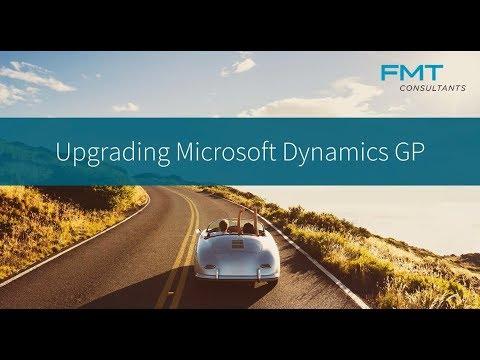 Upgrading Microsoft Dynamics GP - YouTube