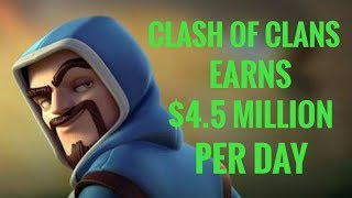 How Much Money Does Clash Of Clans Make Per Day 2017 | COC Earning And Success Story