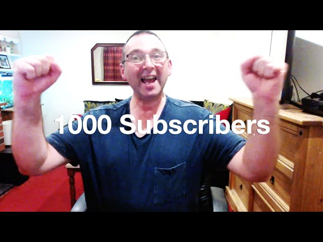 British Trucking 1000 subscribers Thank You!