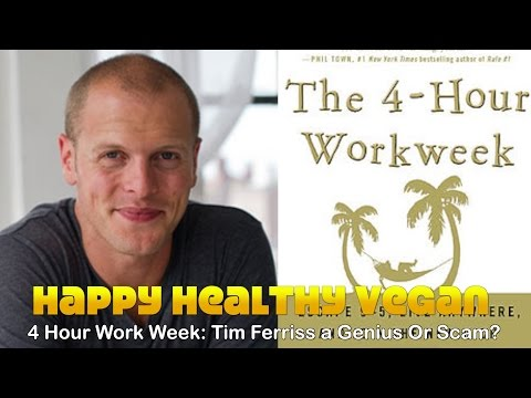 4 Hour Workweek: Tim Ferriss A Genius Or Scam?