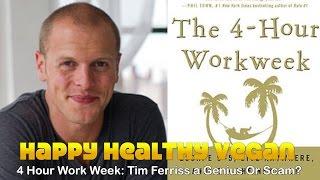4 Hour Workweek: Tim Ferriss A Genius Or Scam?