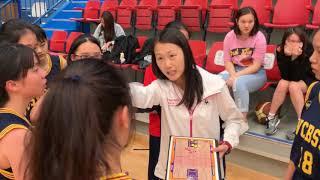 20181114A - 學界A-Grade女子籃球賽競逐四強 - 標中 vs 可風- 第一節