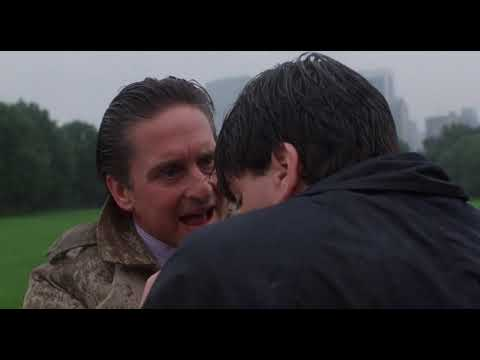 Wall Street 1987 - Gordon Gekko and Bud Fox (Central Park scene)